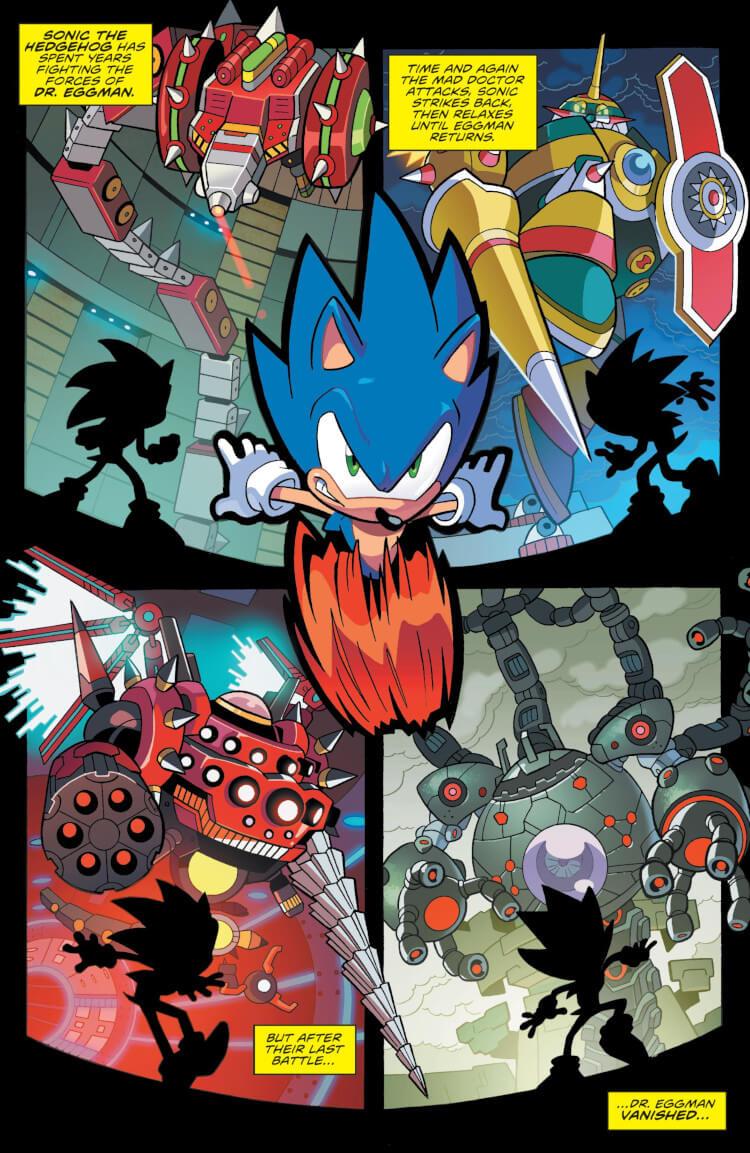 Sequência de Sonic Forces.