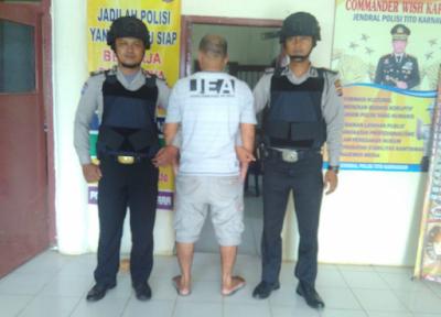 Polsek Raman Utara Tangkap DPO Tindak Pidana Pencurian Dengan Kekerasan