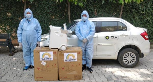 O2ForIndia initiative by Ola Foundation now in Ludhiana
