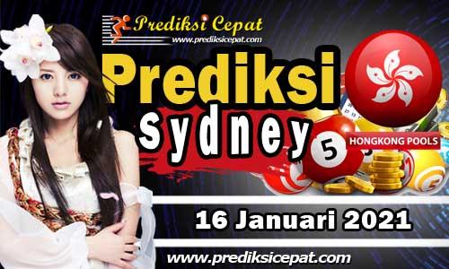 Prediksi Togel Sydney 16 Januari 2021