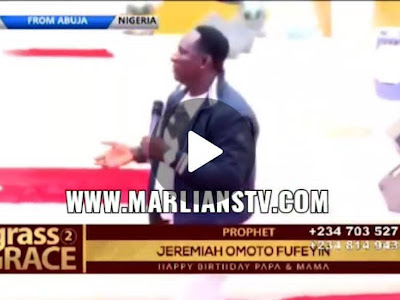 """Prophet Jeremiah Fufeyin is a born giver and a pacesetter """" Dr Doyin Olaleye, Marlians TV"""
