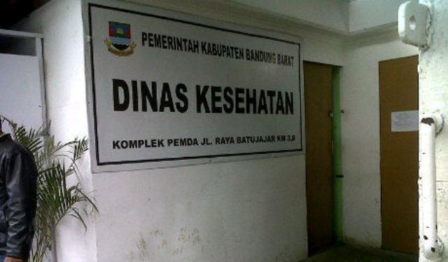 Ajang Korupsi Dinas Kesehatan Bandung Barat, Pencairan kalim Rp7,7 Miliar Tak Disetorkan ke Kas Daerah