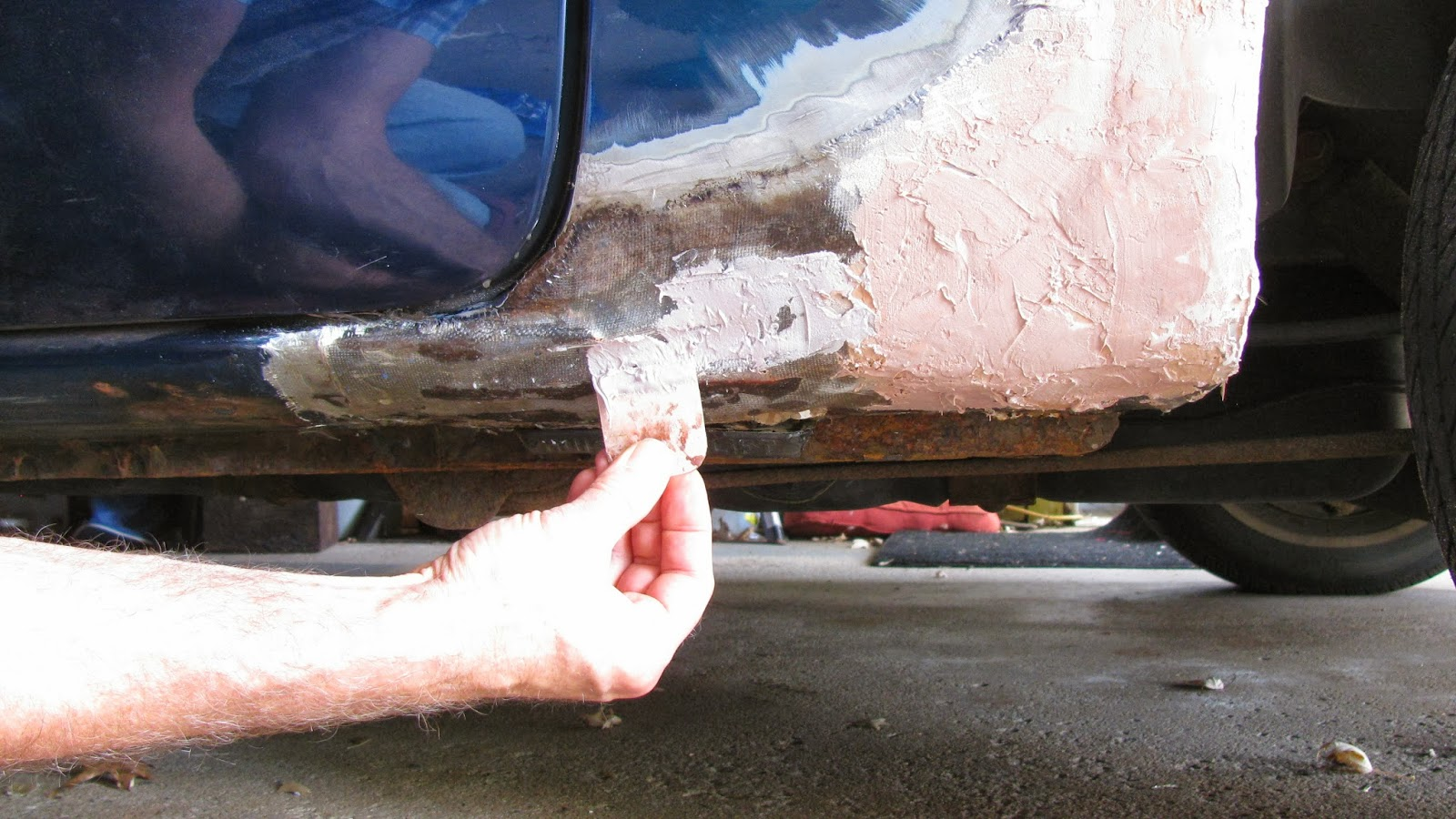 The Original Mechanic How To Repair A Rust Out With