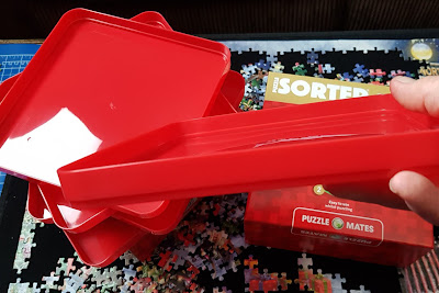 Puzzle Mates Puzzle Sorting Trays set review Jigsaw help