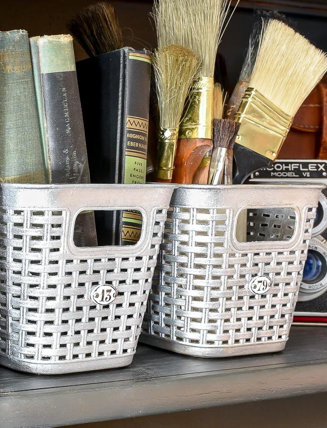 An easy way to make plastic look like metal