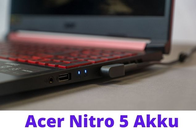 Acer Nitro 5 look