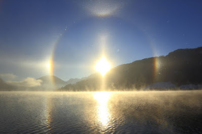 3 Suns And Inverted Rainbow Seen in China