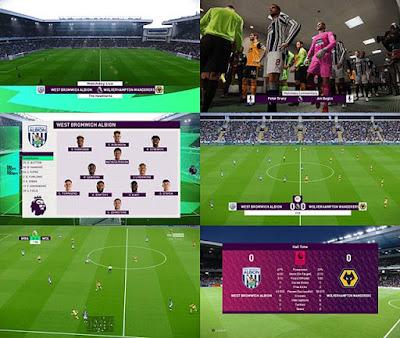 New English Premier League Scoreboard