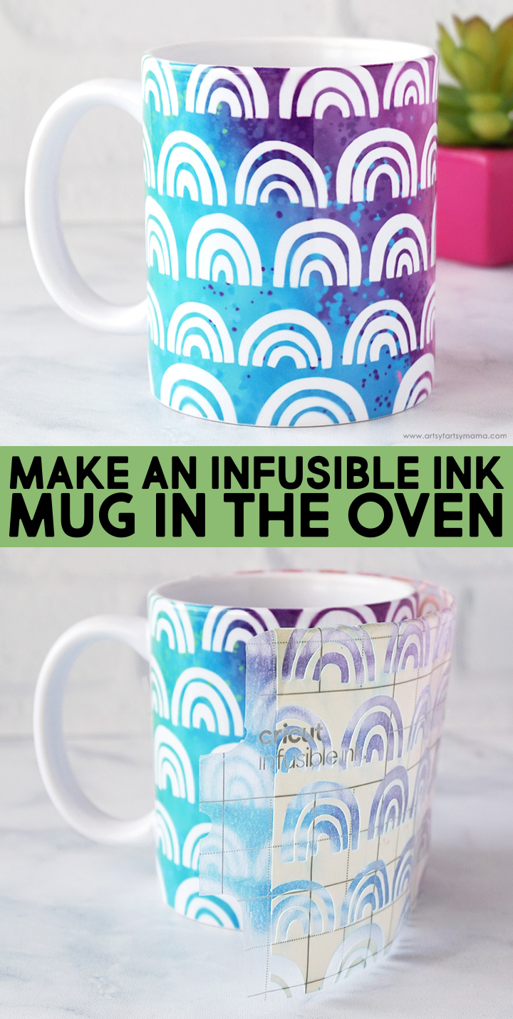 Make Infusible Ink Mug in the Oven