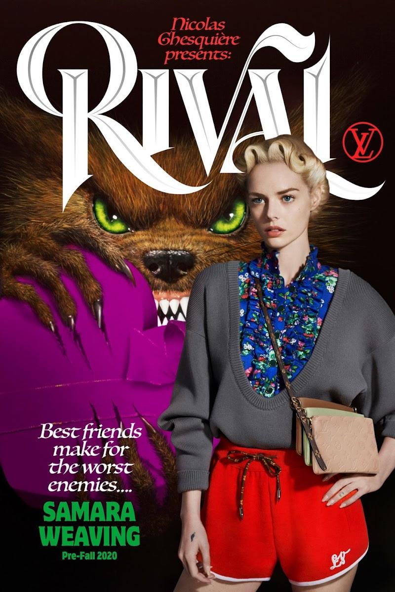 Samara Weaving Featured In – Louis Vuitton Pre-Fall 2020 Campaign