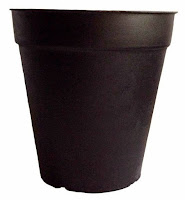 small plastic pot for garden plant propogation