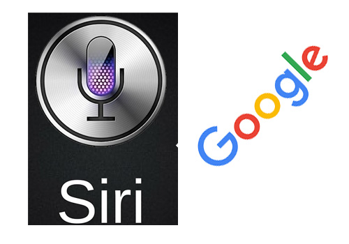 siri and google