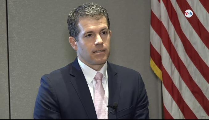 Richard Glenn, vicesecretario de Estado Adjunto Antidrogas de EEUU / VOA