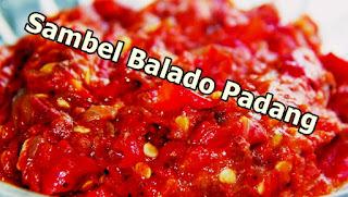 Resep Sambal Balado Padang