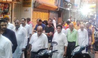 ढोल ग्यारस पर शहर में निकले ढोल, नीमा समाज ने चारभुजा नाथ मंदिर से निकाला चल समारोह