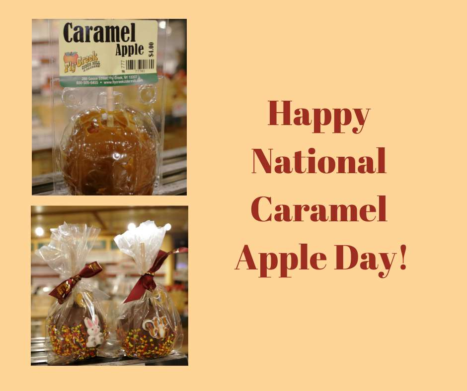 National Caramel Apple Day Wishes Unique Image