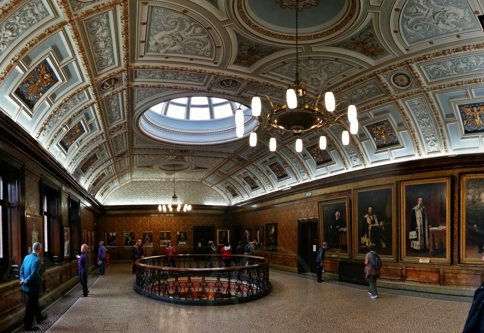 Upper Gallery,  City Chambers, Glasgow
