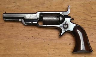 Historique du Colt Modèle 1855 Sidehammer