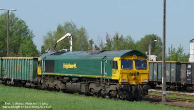 Lokomotywy Class 66 z firmy Freightliner PL