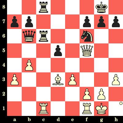 Les Blancs jouent et matent en 4 coups - George Thomas vs Vera Menchik, Carlsbad, 1929