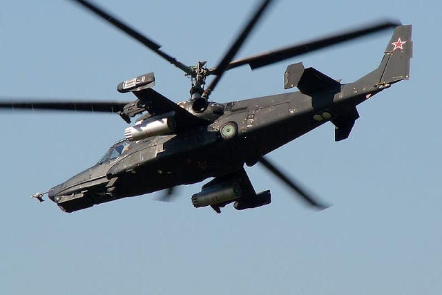 Gambar 05. Foto Helikopter Tempur Kamov Ka-50 Black Shark