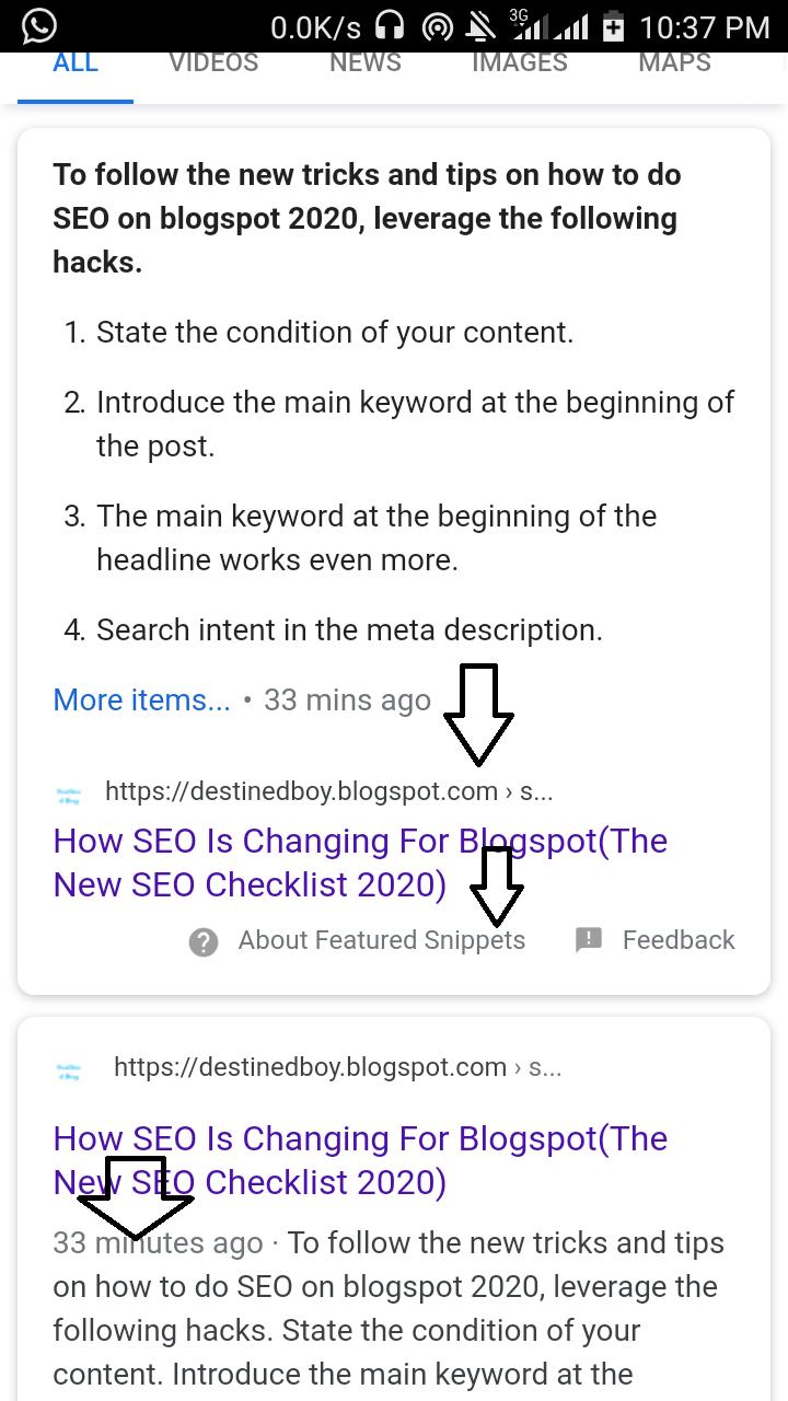 how to do seo on google blogger