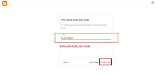 tutorial membuat blog dari blogspot