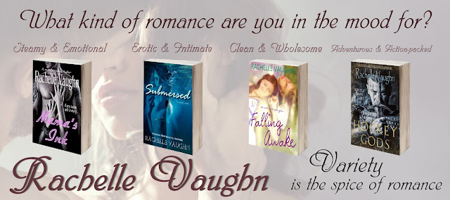 romance author rachelle vaughn romance books to read