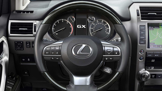 Details of Lexus GX 2020 car