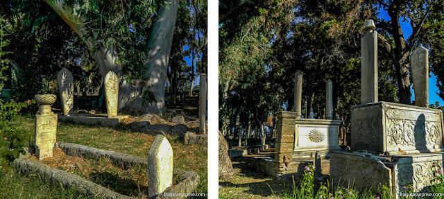 Cemitério Otomano de Rodes, na Grécia