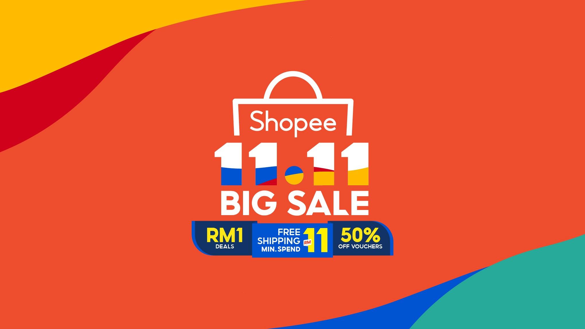 Shopee 11.11 Electronic Big Sale Deal