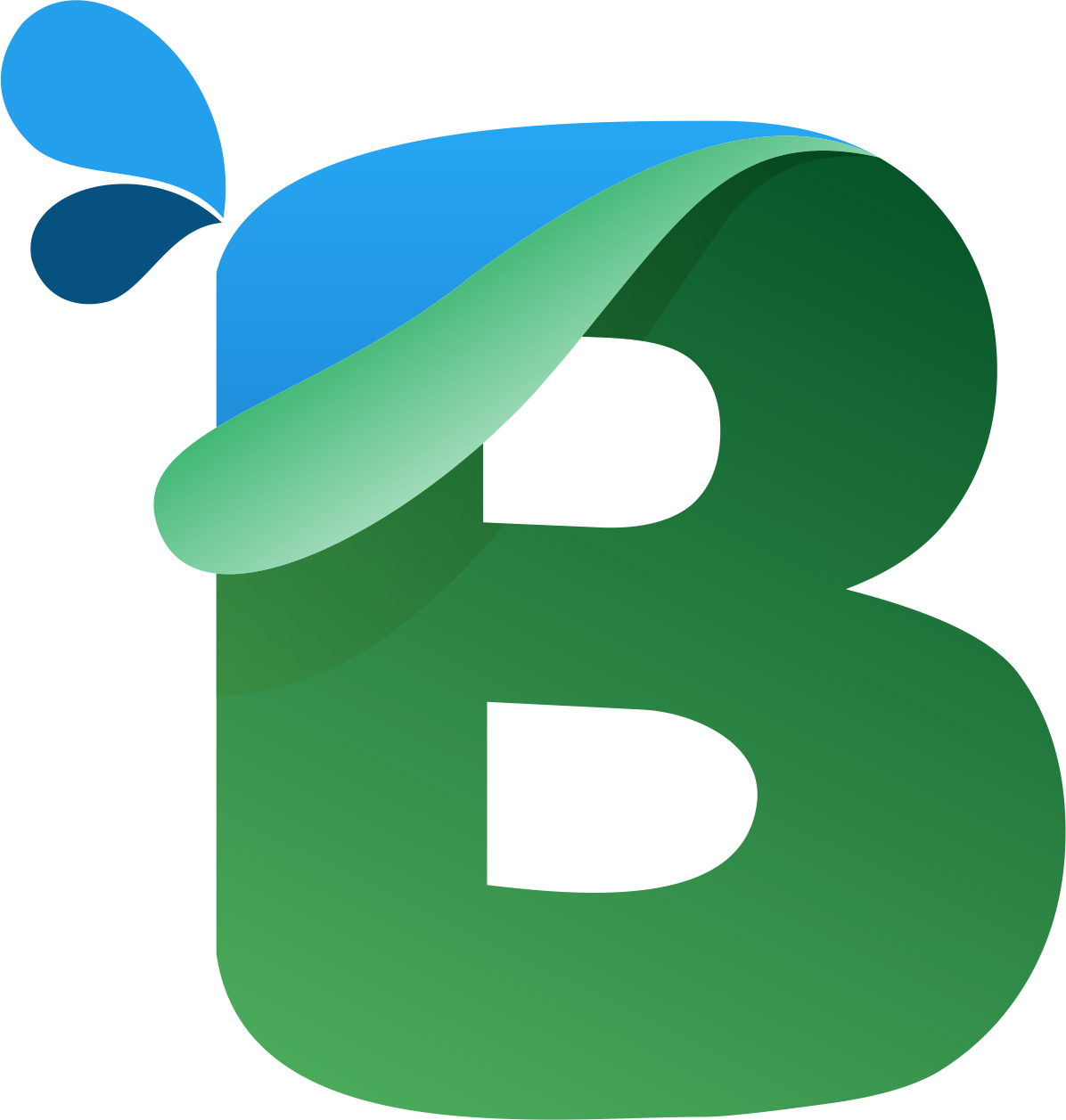 mtc tutorials  download letter b logo design for free