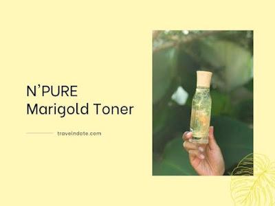 ulasan N'Pure Marigold Toner