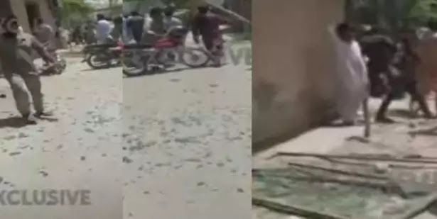 Blast in Johar Town area of Lahore