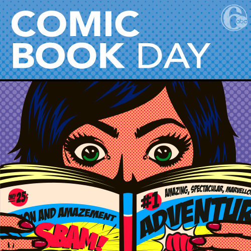 National Comic Book Day Wishes Beautiful Image