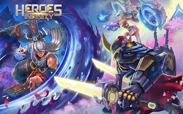 Heroes Infinity: God Warriors 1.27.4 Apk + MOD (Money) for Android