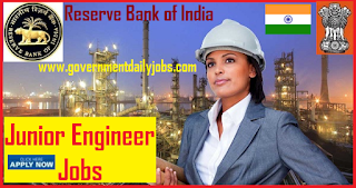 Reserve Bank of India-RBI jobs for Junior Engineer Civil/Electrical Branches