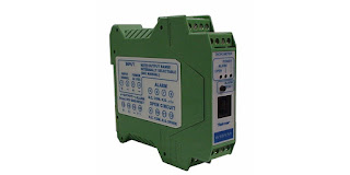 DIN rail mount tachometer with analog output