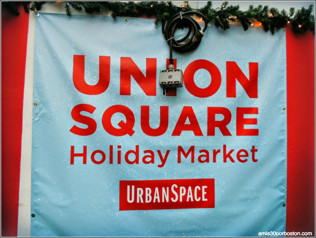 Mercadillos Navideños en Nueva York: The Union Square Holiday Market