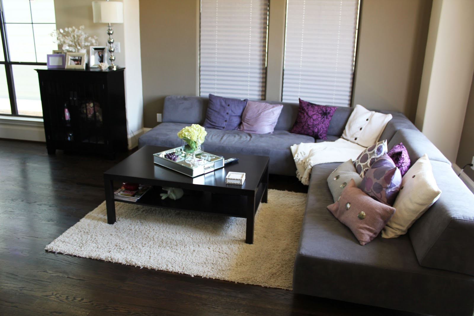 Home tour updates w furniture decor veronika 39 s blushing for Room decor marshalls