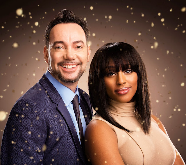 Craig Revel-Horwood and Alexandra Burke