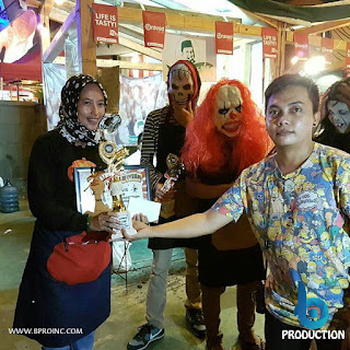 1st Best Tenant Retro Halloween Competition, Kemang BBQ Party Chapter 8