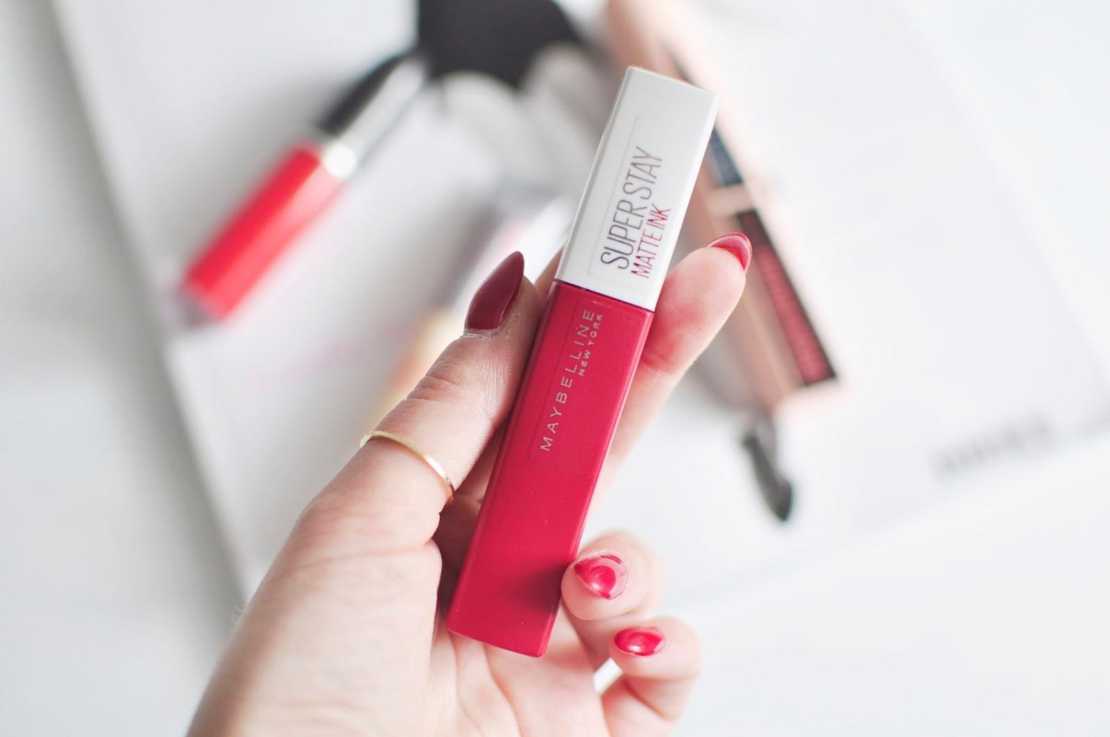 Ulubieńcy #kwietnia | Maybelline Rimmel MAC Cosmetics