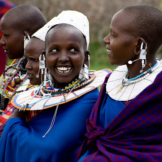 The Maasai people of East Africa live in southern Kenya and northern Tanzania along the Great Rift Valley on semi-arid and arid lands.
