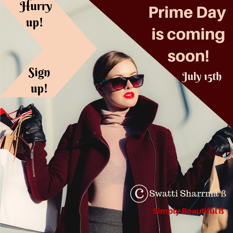 Amazon Prime Day 2019 - Only for prime members.