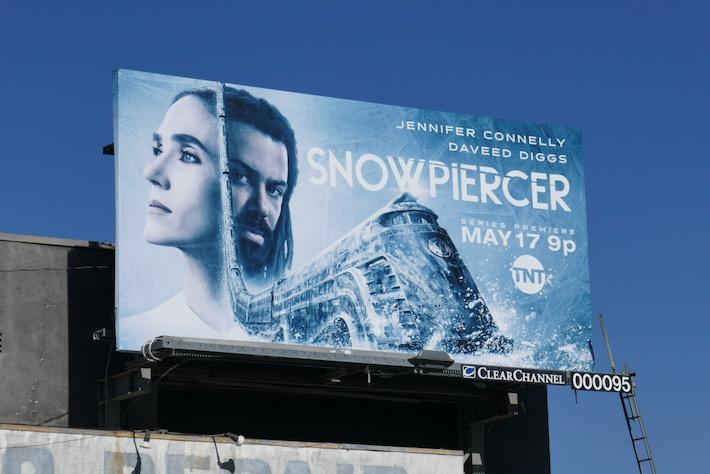 Snowpiercer season 1 billboard