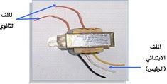 مكونات المحول الكهربائي