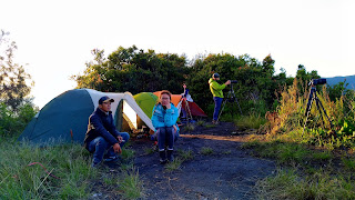 Camping at Kingkong peak Mount Bromo