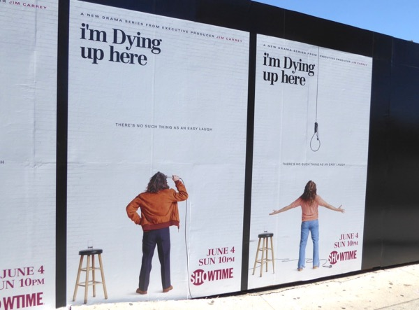 Im Dying Up Here launch posters
