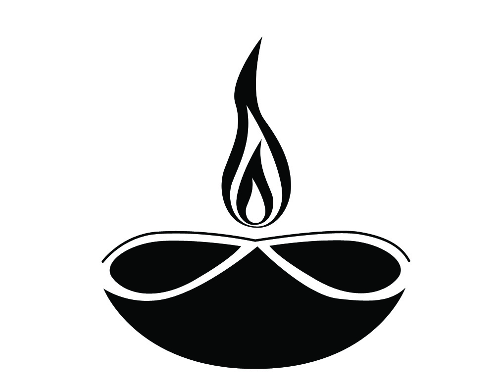 diya clip art for diwali